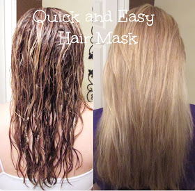 Quick and Easy Hair Mask