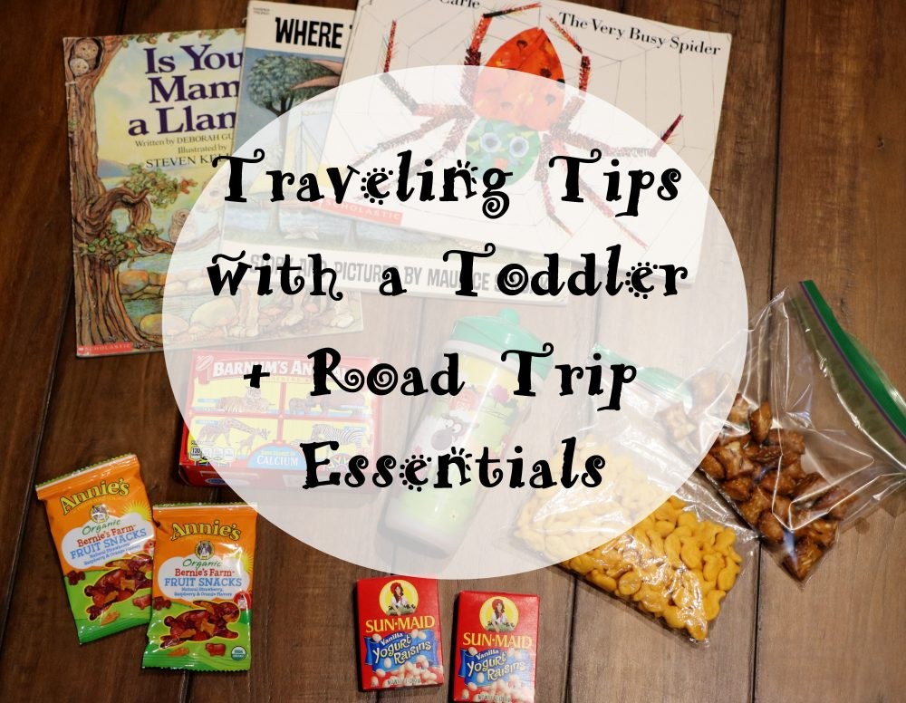 Traveling with a Toddler + Road Trip Essentials