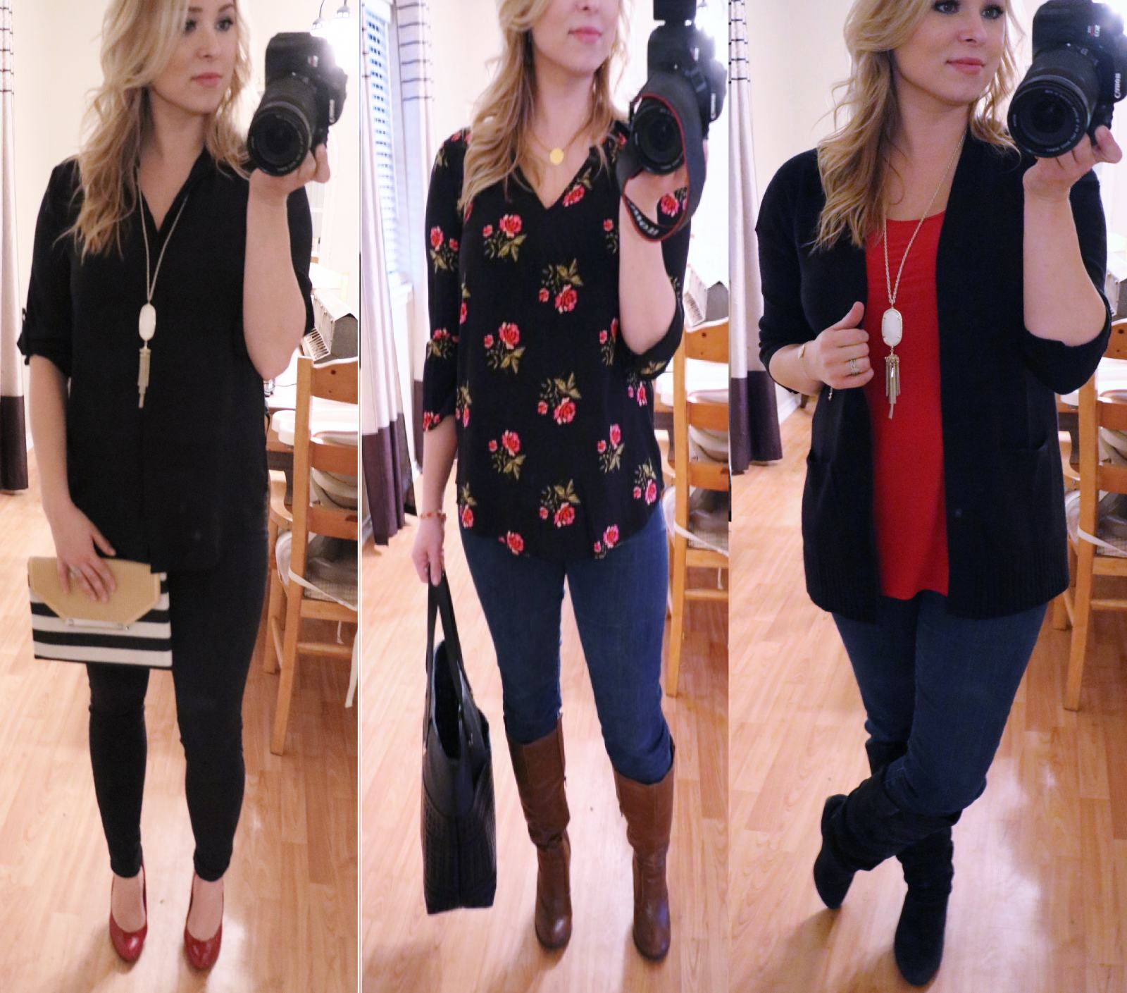3 Dressy Casual Valentine's Day Outfit Ideas + 12 Valentines Graphic Tees